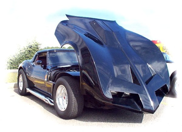 this is our 3rd corvette it is a 1973 corvette with the motion